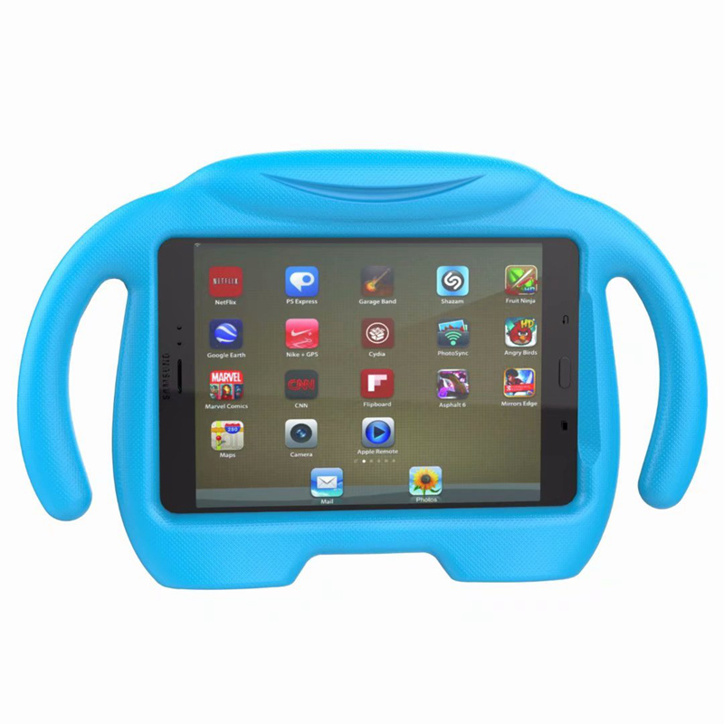 Luxury Stand Shockproof EVA Foam Kids Case Cover for <font><b>Samsung</b></font> Galaxy <font><b>Tab</b></font> <font><b>A</b></font> 8.0 2016 <font><b>T350</b></font> T355 SM-T355 Tablet Funda Child Cases image