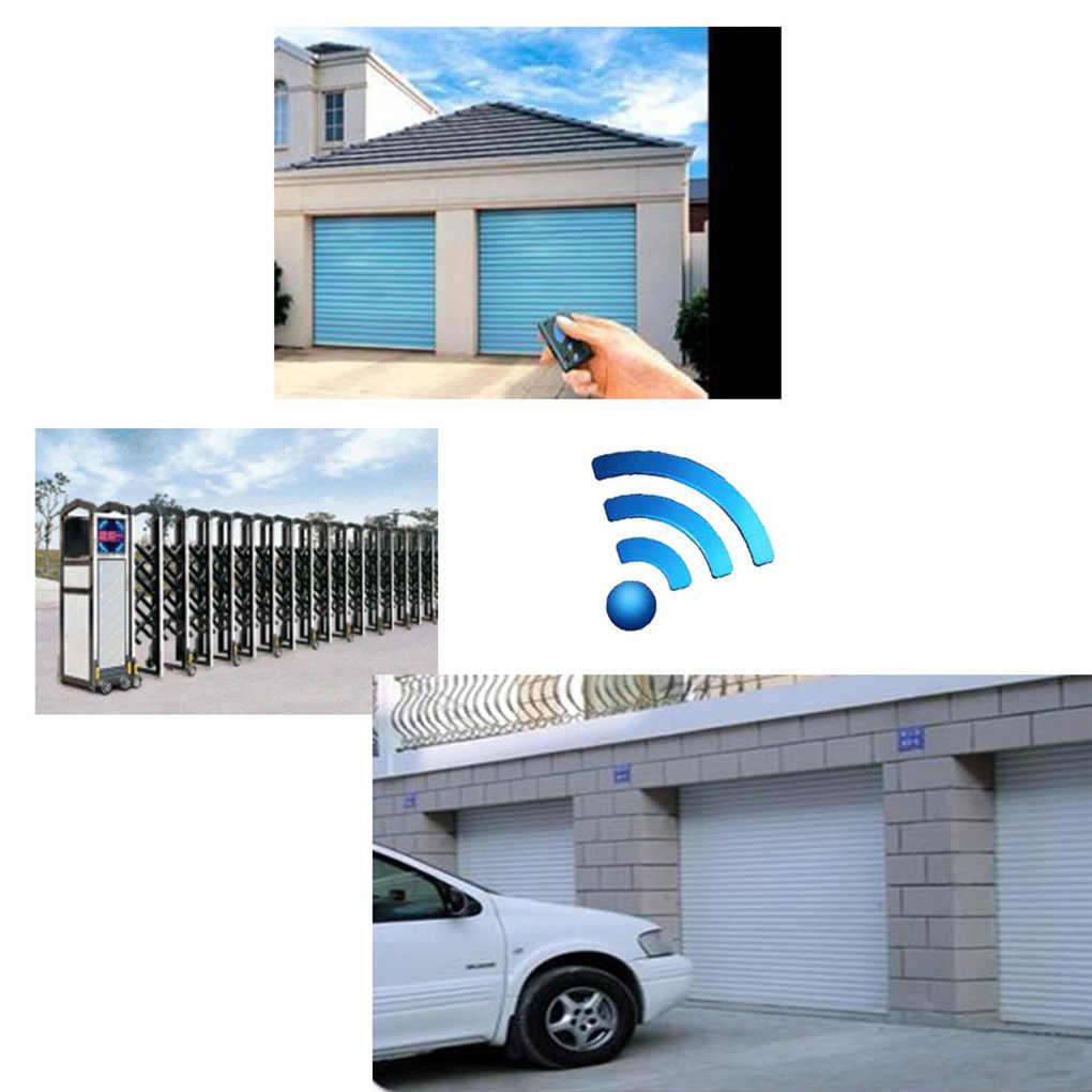 Sonoff Universal 433 MHz 4 ช่องรีโมทคอนโทรล RF ไร้สายประตูรีโมทคอนโทรล Key FOB CONTROLLER
