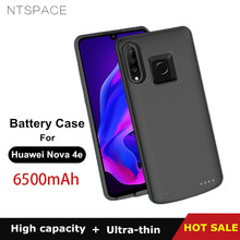 NTSPACE Portable Power Bank Pack Charging Cover For Huawei Nova 4e Battery Charger Cases 6500mAh Ultra Slim Extenal Case