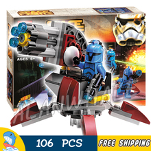 106 pcs Espaço guerras Troopers Avengers Senado Commando 10367 Incrível Kit Modelo de Construção Blocos Kid Brinquedos Bricks Compatível Com Lego