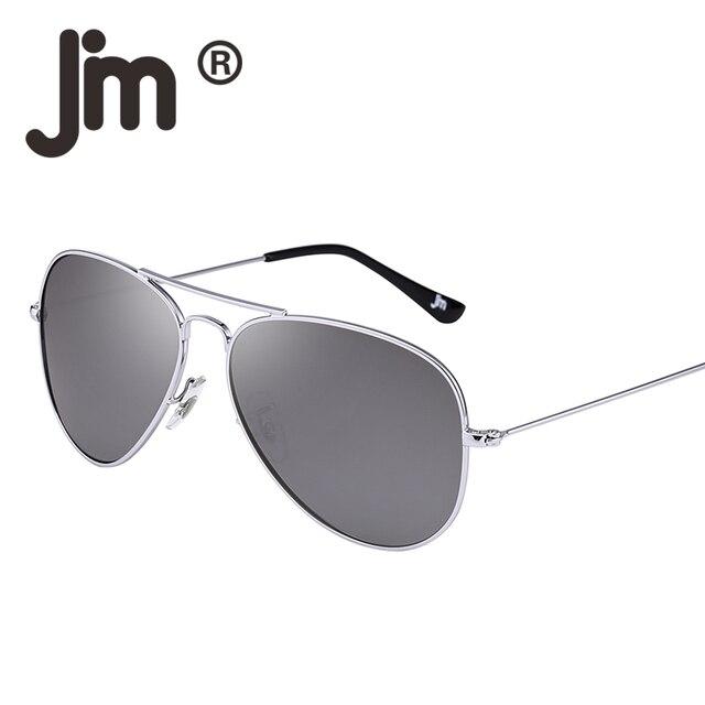 876150da84c3 JM Retro Mirror Aviation Polarized Flash Tinted Lens Driving Sunglasses for Women  Men UV400 Metal Frame Vintage Sun Glasses