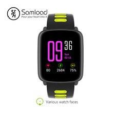 Samload IP68 Sports Pulseira Bluetooth Inteligente Relógio Adulto Nadar Equitação Freqüência Cardíaca Rastreador Rastreador Sono Para iPhoneSE 6 7 8 xiaomi