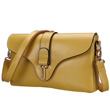 Designer Real Leather Messenger Bag Women Trendy Plaid Shoulder Bag Classy Cheap Ladies Fab Cowhide Crossbody
