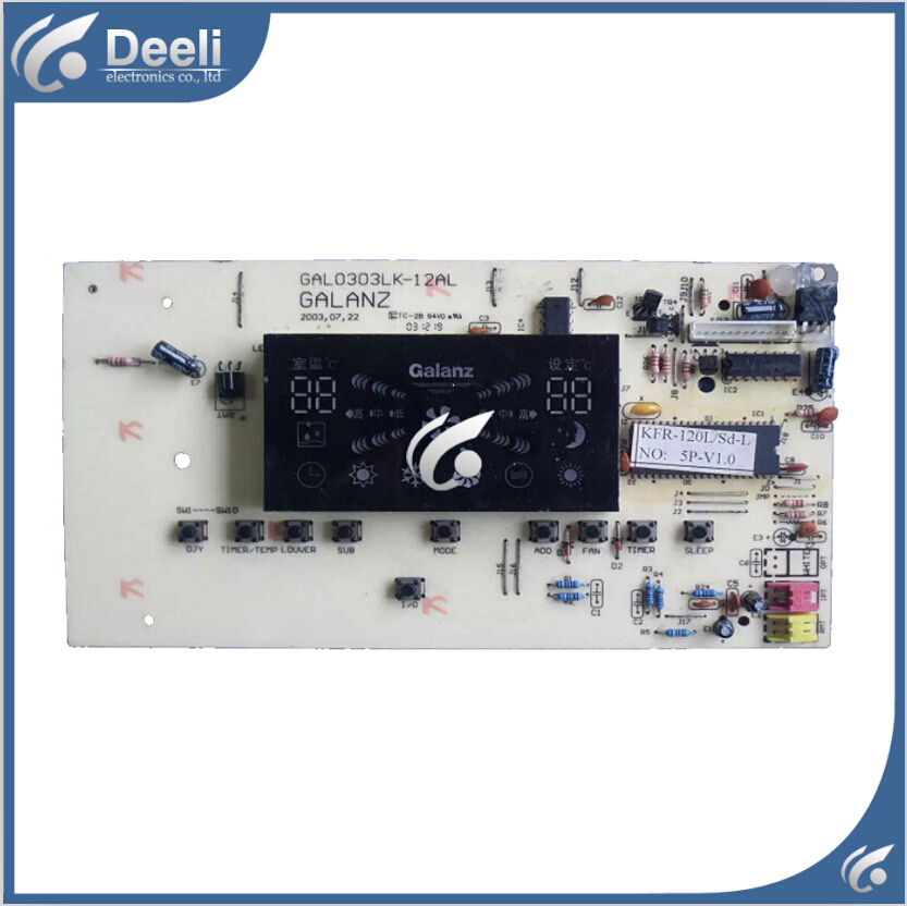 95% new good working for Galanz air conditioning computer board Display receiving plate GAL0303LK-12AL board холодильник galanz bcd 217t