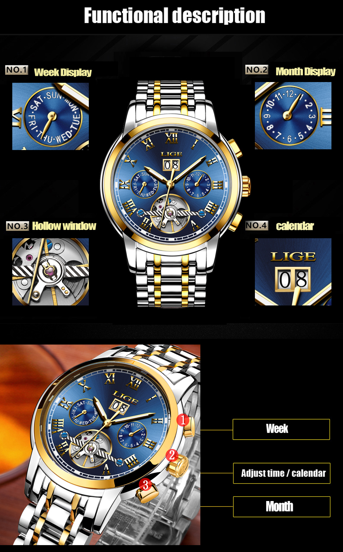 HTB1bDmfVIfpK1RjSZFOq6y6nFXaR Mens Watches Top Brand LIGE Fashion Luxury Business Automatic Mechanical Men Military Steel Waterproof Clock Relogio Masculino