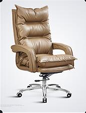 Computer chair. Chair. Leather office chair. Simple electric chair.035 the silver chair