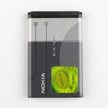 Оригинальный Nokia BL-5C аккумулятор телефона для Nokia C2-01 C2-02 C2-03 C2-06 X2-01 5130 6230i N72 N70 5130 2610 7610 E50 3208C