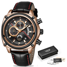 Relogio Masculino Military Leather LIGE9891