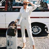 Sexy Denim Jumpsuit Women Romper Long Sleeve Belt Black/White Winter Autumn Jeans Jumpsuit Female 2019 Streetwear Overalls