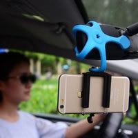 Автомобильный держатель для телефона  держатель для штатива  портативная Гибкая подставка  автомобильный держатель для Huawei P9 P8 honor 8 lite Samsung ...