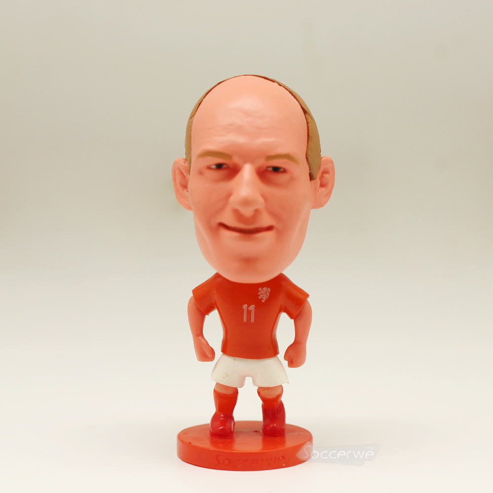 Soccer Player Star 11# ROBBEN (NLD-2014) 2.5 Toy Doll Figure