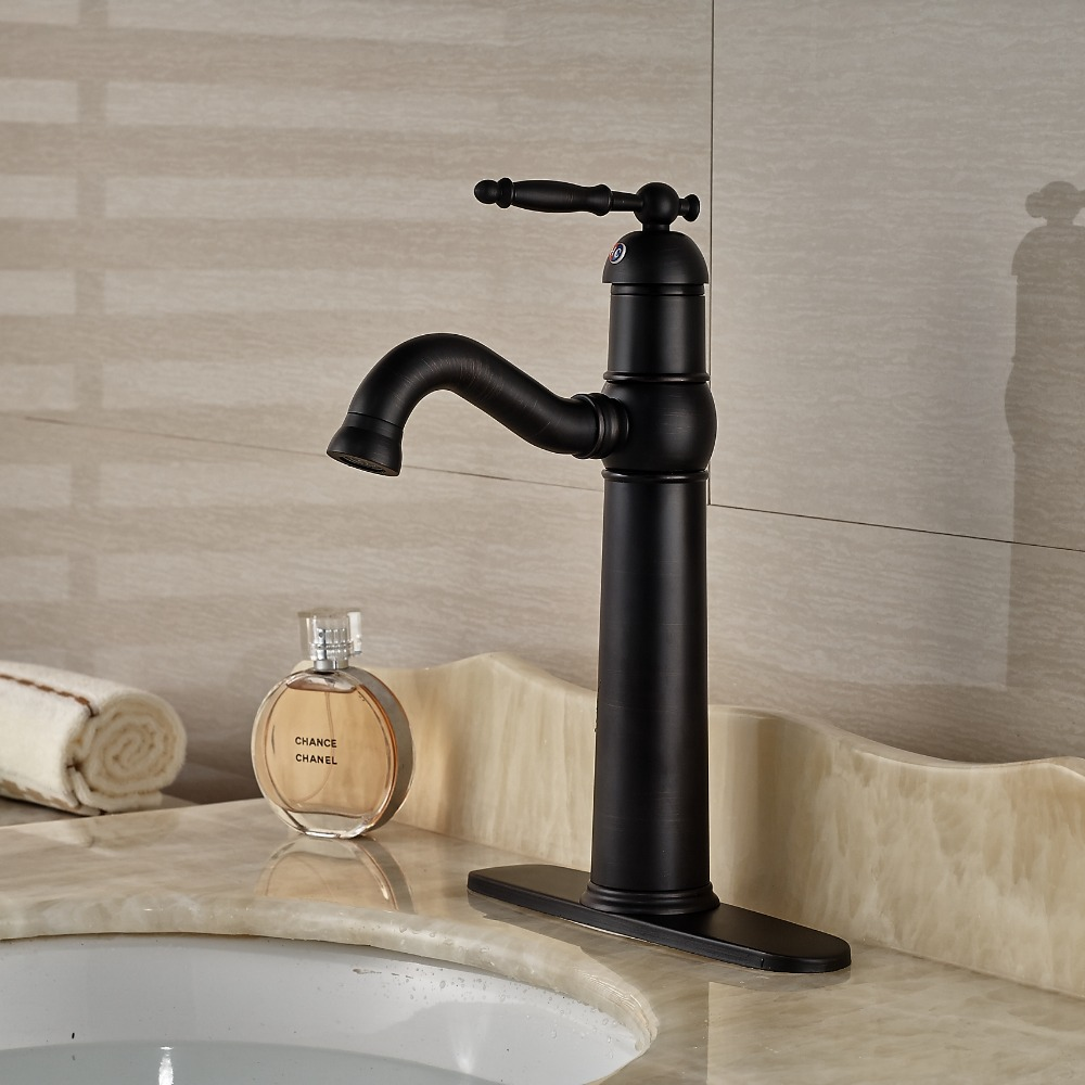 Luxury centerset bathroom sink basin mixer faucet single for Expensive faucets