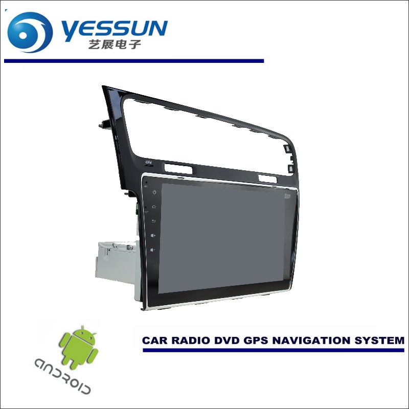YESSUN Car Android Navigation For Volkswagen VW Golf MK7 / Golf Wagon Radio Stereo CD DVD Player GPS Navi BT HD Multimedia
