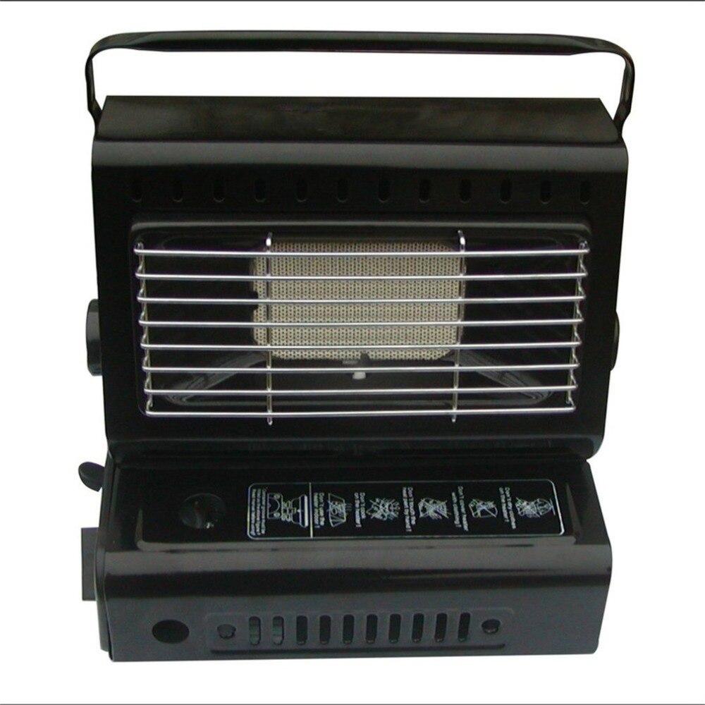 Chauffe-gaz Portable voyage Camping chauffage brûleur randonnée pique-nique équipement double usage extérieur poêle chauffage fer