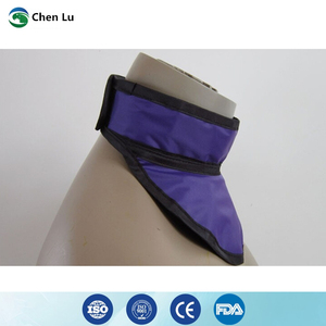 Image 4 - Medical exposure radiation protection 0.35mmpb thyroid collar x ray protective radiological department accessories