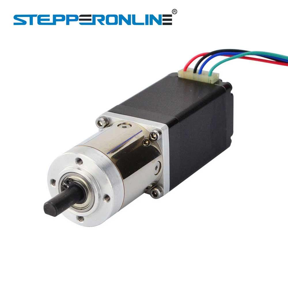 14:1 Planetary Gearbox Nema 11 Stepper Motor 0.67A 4-lead  for DIY CNC Robot 3D Printer14:1 Planetary Gearbox Nema 11 Stepper Motor 0.67A 4-lead  for DIY CNC Robot 3D Printer
