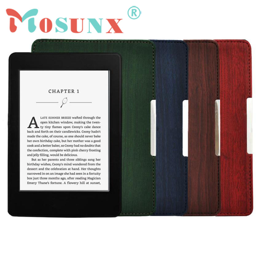 Slim PU Leather Case Smart Cover For Amazon Kindle Paperwhite Sleep/Wake DEC 26 case cover for kindle paperwhite 123 ebook pu leather folio flip smart sleep wake up protective case cover vintage texture