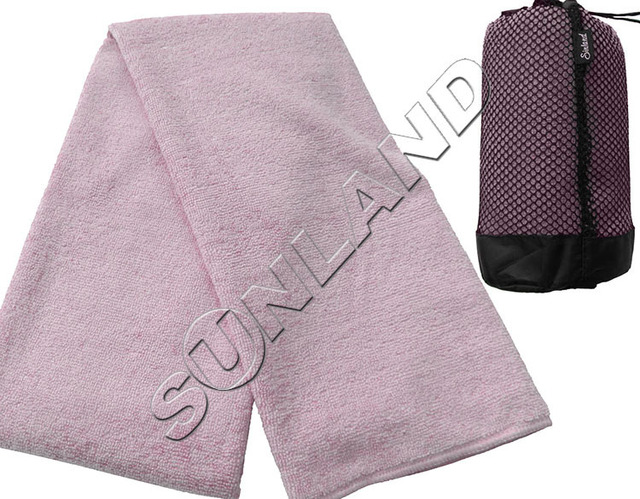 Sunland  Microfiber Bath Towel/with Bag Travel Towel Ultra Absorbent Beach Towel Spa Wrap Towel Quick-dry 81.3cmx152.5cm