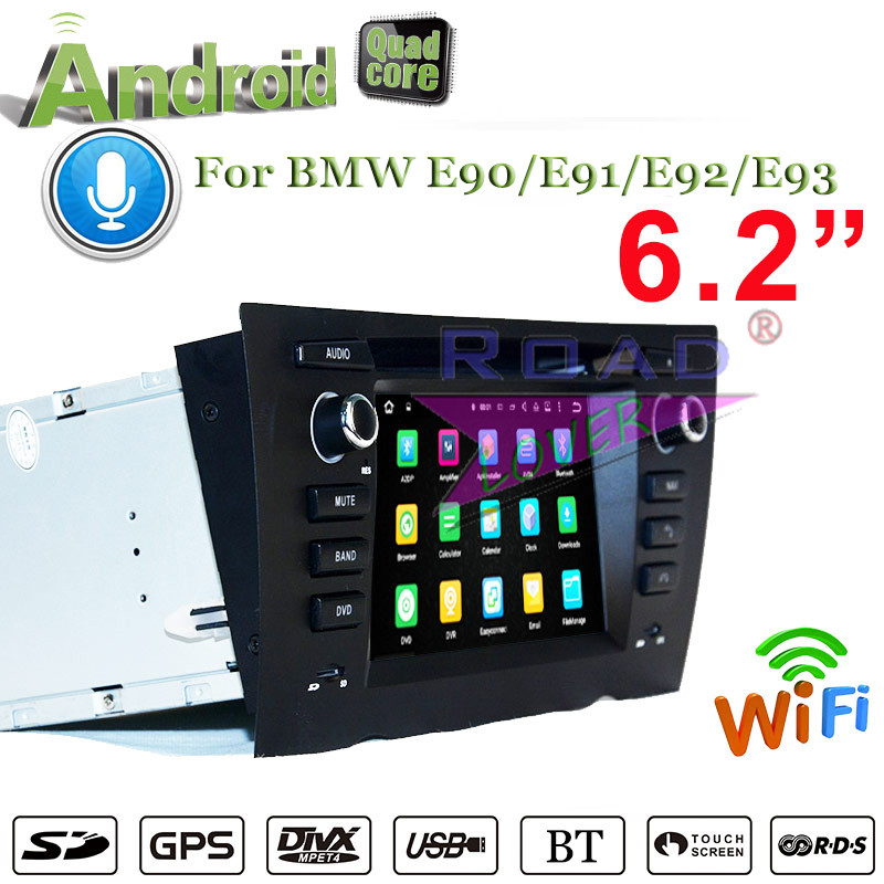 Roadlover Android 7.1 Car DVD Auto Player For <font><b>BMW</b></font> <font><b>E90</b></font> E91 E92 E93 Auto 2005- Stereo GPS Navigation 2G+16GB Quad Core Radio 2Din