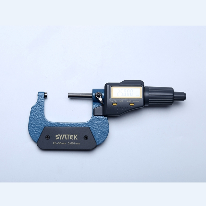 25 50mm Digital Micrometer 0.001mm micron Outside Electronic Micrometers Caliper Gauge Meter Inch/mm Thickness Measuring Tools