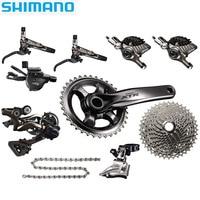 SHIMANO XTR M9000 mountain bike shifter derailleur kit crankshaft sprocket brake 1/2/3 X 11 speed bicycle parts transmission kit