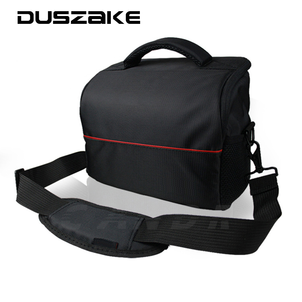 DSLR Shoulder Lens Camera Bag For Canon EOS 1100D 700D 650D 600D 550D Nikon P900 D7200 D40 D5300 Sony NEX A6000 A6300 RX100 ...