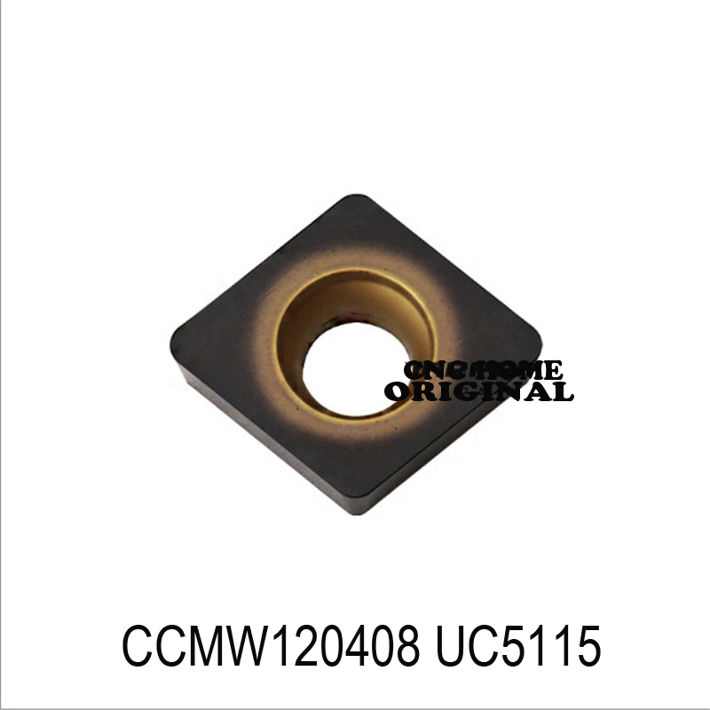 CCMW120408 UC5115 original CCMW09T308 insert carbide for turning tool holder
