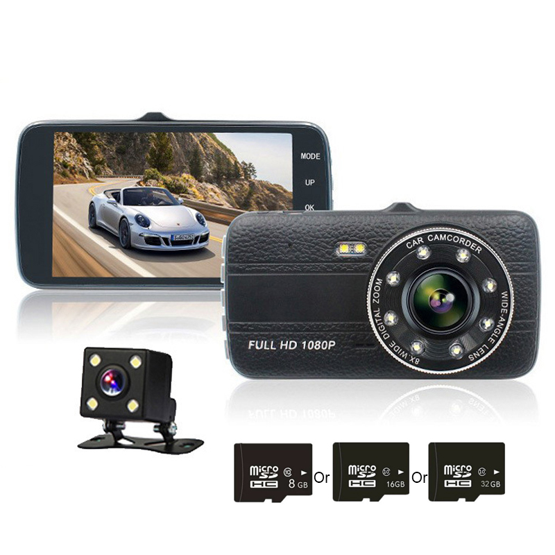 TOSPRA Car DVR Camera Car-Driving-Recorder Dash-Cam Night-Vision 170-Degree Full-Hd 1080P