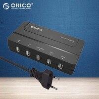 ORICO DCH 5U EU 5 Port USB Charger Wall Chargeur USB EU Adapter Travel USB 2a