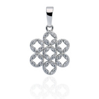Women S Elegant Platinum Plated Imitated Diamond Snowflake Pendant For Necklace Bracelet DIY Pendant