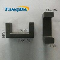U type core Soft ferrite inductor UF85 High voltage electricity Welding machine ultrasonic high power PC40 material UF 85