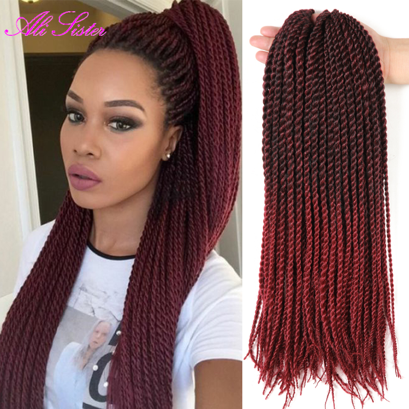 hair extension red ombre braiding hair 18quot 22quot senegalese