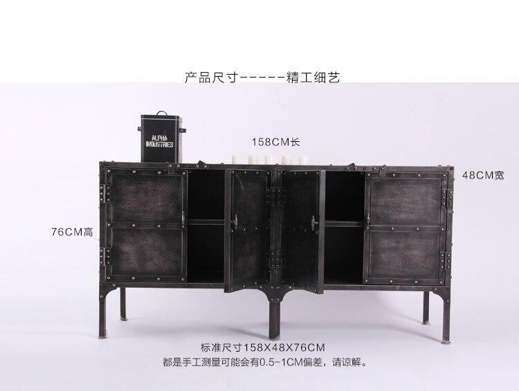 Credenza Angolo Ikea : Nordic ikea ferro credenza cassetti armadio di stoccaggio