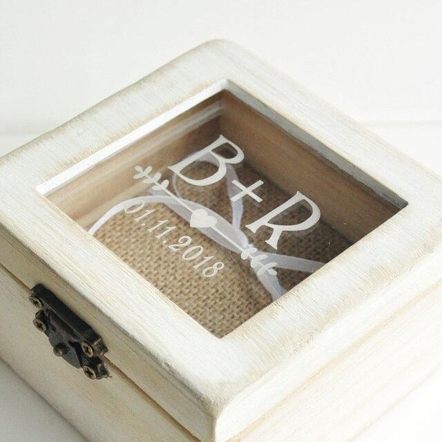 Personalisierte Hochzeit Ring Box Engagement Box Hochzeit Valentines