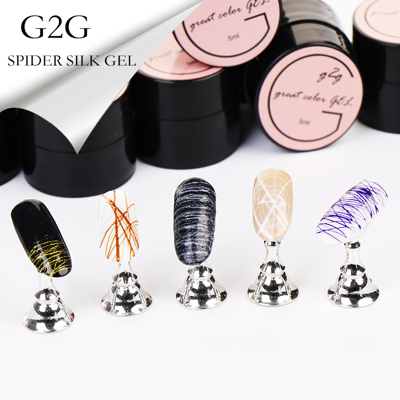 Girl2girl Nail Gel Polish Nail Art Silk Spider Gel Uv Gel Nail Polish Long Lasting Shinning High Quality Gel Official Store in Nail Gel from Beauty Health