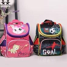 Wenjie brother 2018 новинка 1 3 класса детский школьный рюкзак