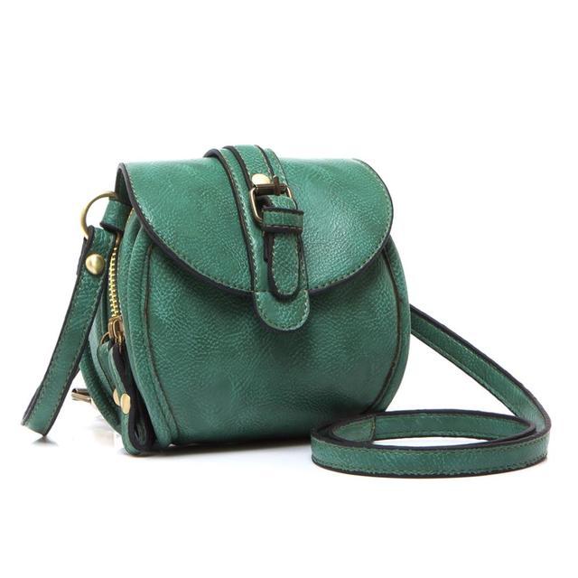 Hot venda da marca Duplo zíper Mulheres sacos de mensageiro Novo 2014 pequenos sacos de ombro sacos de moda PU bolsas de couro à noite