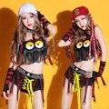 Trajes de baile sexy nuevo bar DS ropa Hip Hop Jazz Dance Club ropa franja