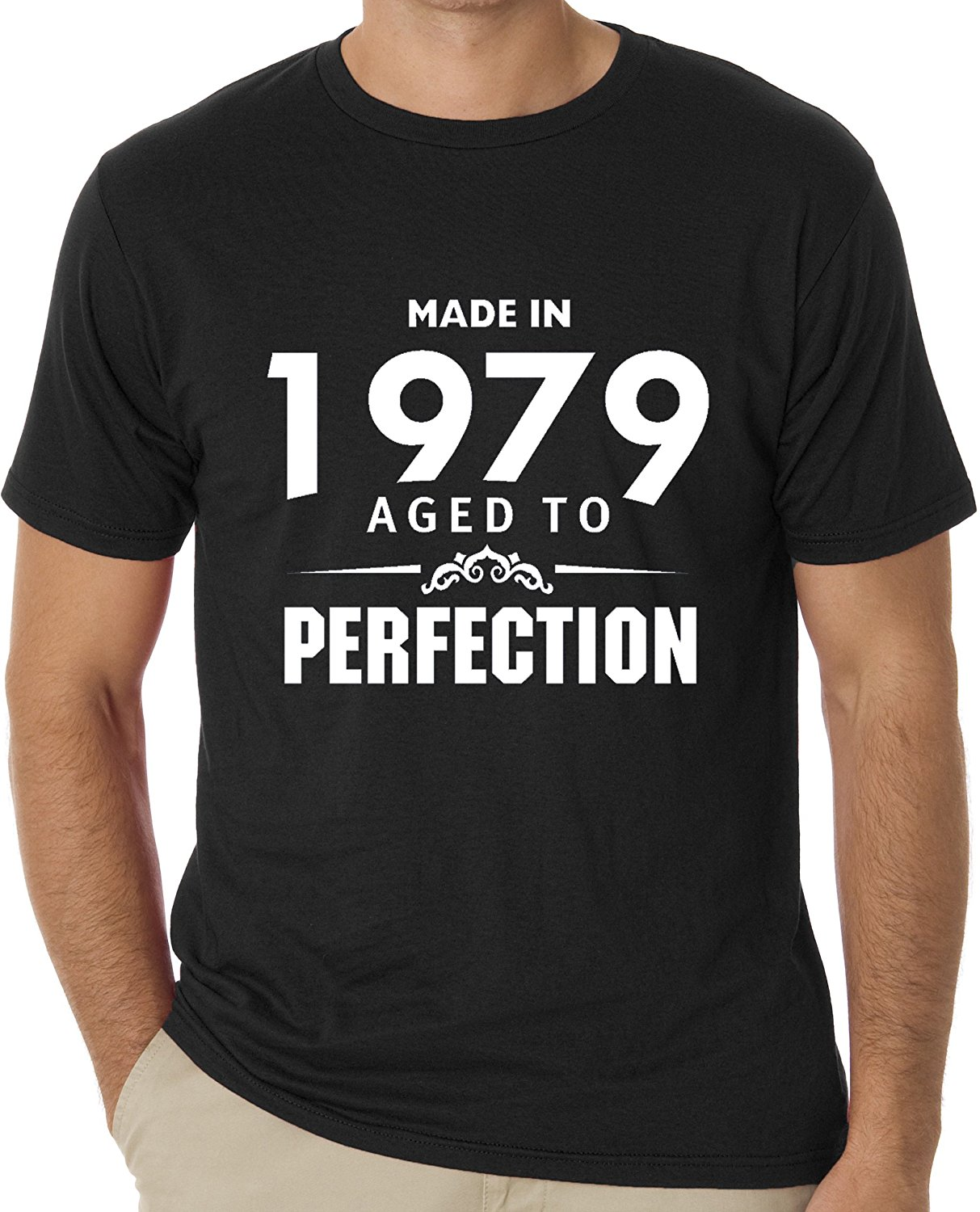Design t shirt graphics online - Tee Shirts Online Made In 1979 Aged To Perfection O Neck Men Short Graphic T