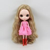 Blyth muñeca desnuda el pelo largo muñeca regalos de cumpleaños para el amigo femenino al por mayor muñeca bjd muñecas mini para las muchachas 2015