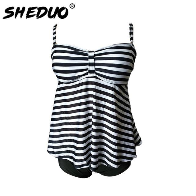 Dots Print Swimwear Brazilian Monokini Skirt Swimsuit Women Bodysuit Plus Size Swimsuit 2017 Vintage Retro Bathing Suit bikinis 5