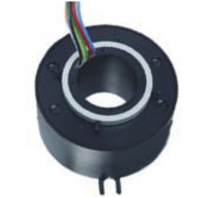 FREE Ship 25.4 mm Inner hole Through Bore Slip ring Rotary Joint Collector Rotative
