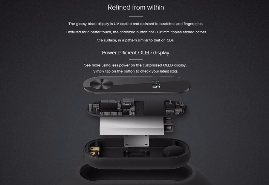 Global Original Xiaomi Mi Band 2 With Passometer Activity Tracker Xaomi Smart Bracelet Fitness Watch For Xiomi Miband2 Miband 2 11