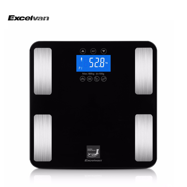 Excelvan Touch 400 Lb Digital Smart Body Fat Scale Measures Up To Weight Bmi