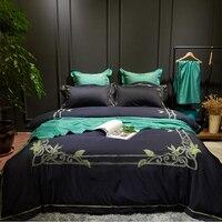 100% baumwolle Luxus 3D Bettwäsche set Westlichen Stil bettwäsche Bettwäsche Doppel Königin größe 4 Stücke Bettdecke bettbezug Bettlaken set