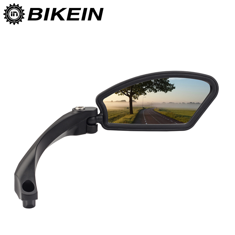 Cycling Bicycle Mirror Mountain Bike Rear View Mirror MTB Handlebar Back Blind Mirror 360 Rotation Safety Bike Rearview Mirrors цена
