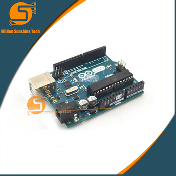 1pcs High Quality Arduino UNO R3 Official Genuine Chinese Version Free Shipping