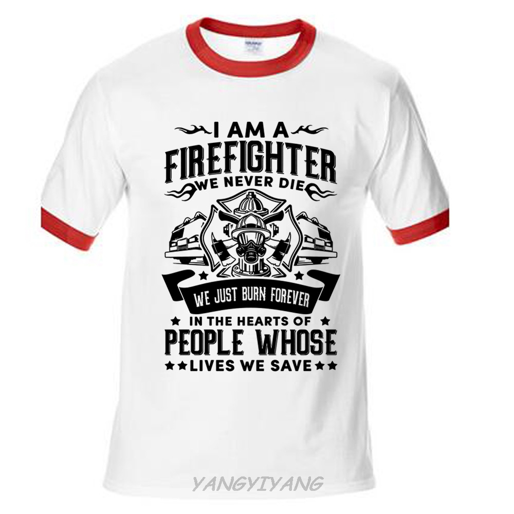 Summer new arrival male best selling t shirt firefighter for Where can i sell t shirts