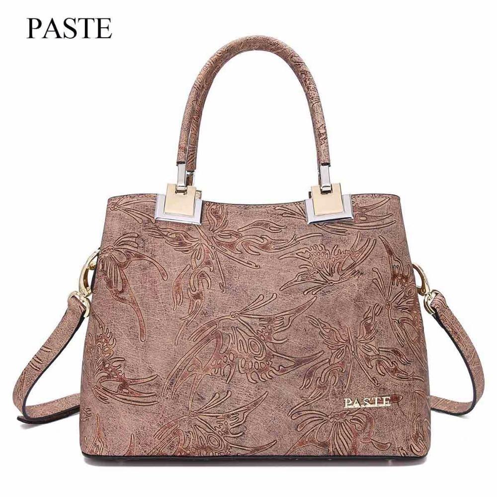 Women's Genuine Leather Handbags Women Top-Handle Bags Shoulder Bag Lady's bag Clutch female purse female original leather a bag