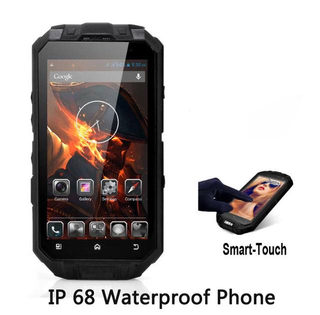Desbloqueado teléfono Celular ultra delgado XV MTK6572 accidentado Android teléfono móvil IP68 Impermeable GPS smartphone 3G A8 A9 zug3 Z6 V6
